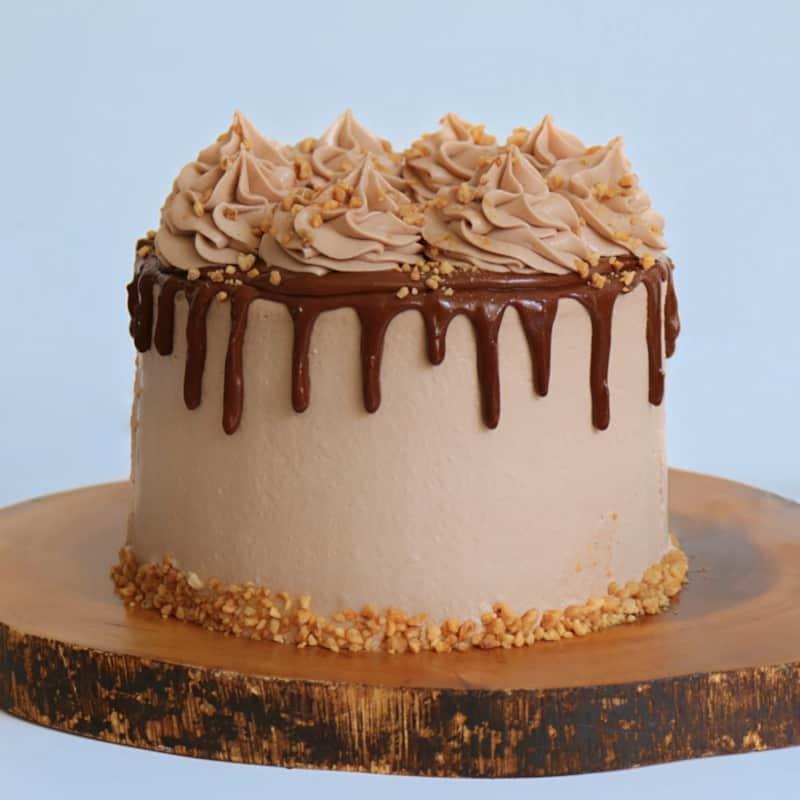 עוגת דריפ קייק נוטלה