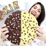 עוגיית חצי חצי ענקית