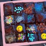 עוגת שוקולד עם שני קידר