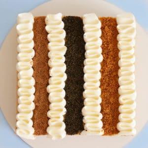 עוגת שלושת הביסקוויטים