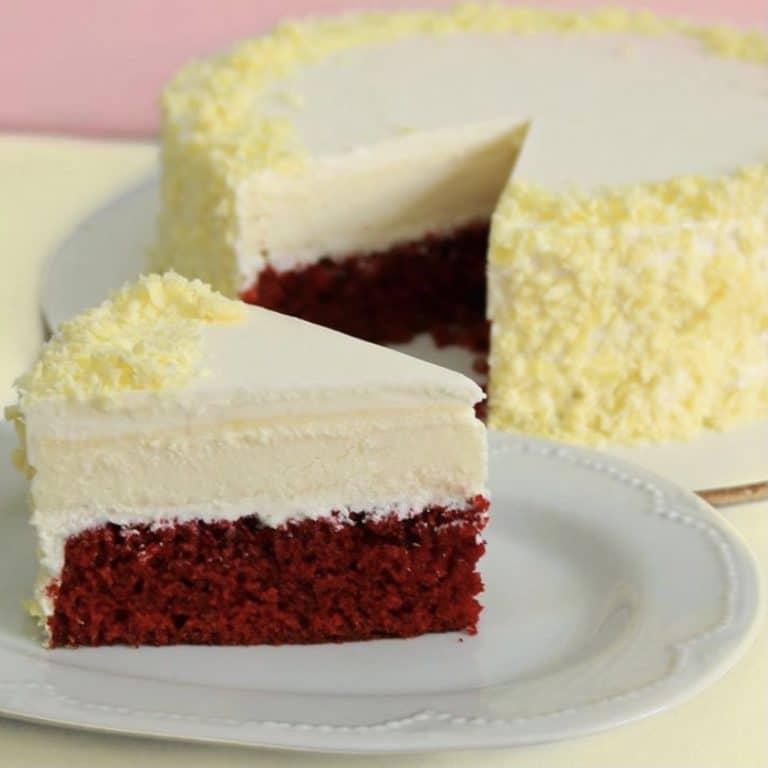 עוגת גבינה רד וולווט