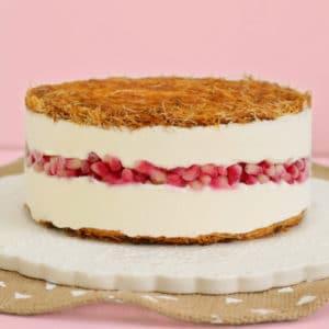 עוגת קדאיף מסקרפונה