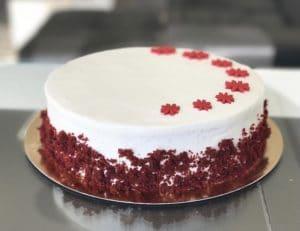 עוגת רד וולווט קלאסית