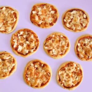 פיצה כוסמין מופחתת שומן